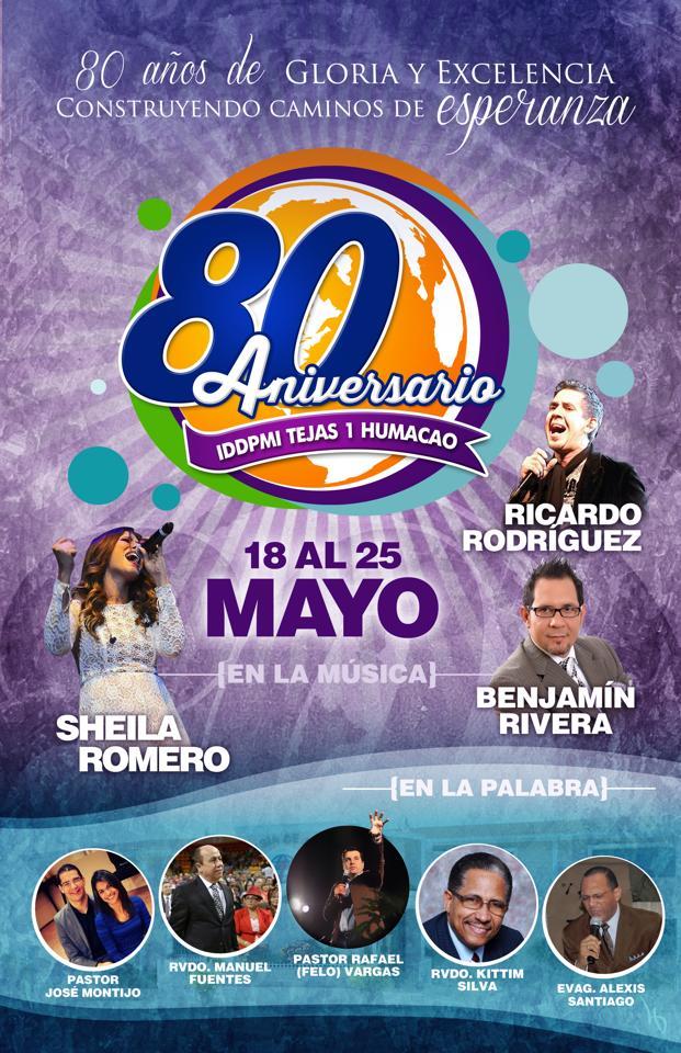 Nuestro 80 Aniversario